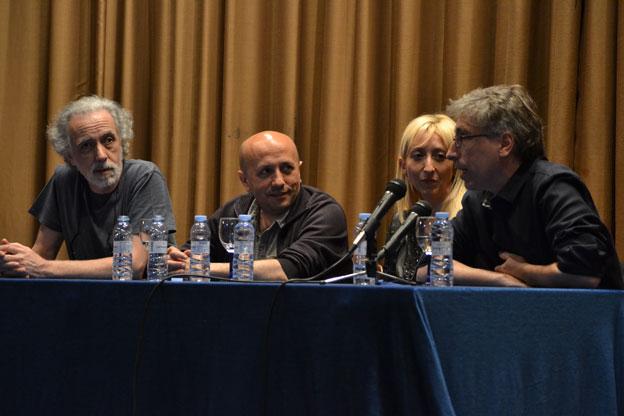 Fernando Trueba, Luis Alegre, Vicky Calavia y David Trueba