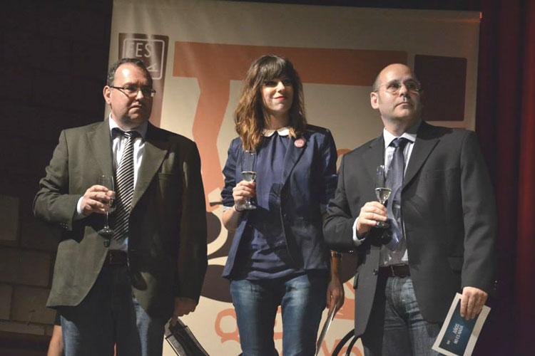 Los tres directores de los festivales brindan por el futuro